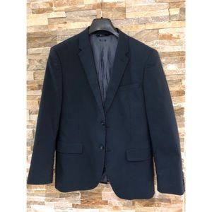 Navy blue slim fit perry Ellis Sport coat